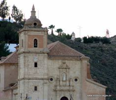 """#Almería - #Gádor - Iglesia de Nuestra Señora del Rosario - 36º 57' 18"""" -2º 29' 20"""" / 36.955000, -2.488889  Data de 1.952 y está construído en mármol blanco de Macael. Es un auténtico balcón natural, desde donde se divisan bellísimas panorámicas. Horario de visita: Libre. Data de 1.952 y está construído en mármol blanco de Macael. Es un auténtico balcón natural, desde donde se divisan bellísimas panorámicas. Horario de visita: Libre."""