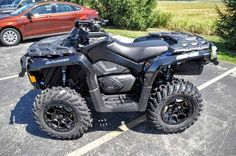 New 2017 Can-Am Outlander XT-P 850 ATVs For Sale in Wisconsin. 2017 Can-Am Outlander XT-P 850, 2017 Can-Am® Outlander XT-P 850 STUNNING LOOKS AND UPGRADED SUSPENSION Loaded with features including an upgraded suspension and aluminum beadlock wheels, the Outlander XT-P package is a sporty ride with all the extras. Features may include: ROTAX V-TWIN ENGINE OPTIONS CATEGORY-LEADING PERFORMANCE Available with the 78-hp Rotax 850 or 89-hp Rotax 1000R liquid-cooled V-Twin engine, with four valves…