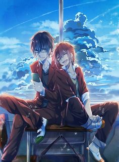 Yata x Shizumi Black Butler Characters, Anime Characters, I Love Anime, Anime Guys, Anime Glasses Boy, Anime Manga, Anime Art, K Project Anime, Angel Of Death
