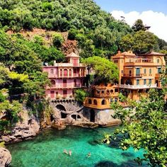 Portofino: ever since I was an intern at a company a few years back and secretly spend way too much time on the internet I fell in love the moment I saw pictures of Portofino on a travel website! I've been reading about it, and seeing envious pictures everywhere ever since. Everything looks like a dream location to create any editorial and I can't wait for the day I can go and experience this amazing spot!