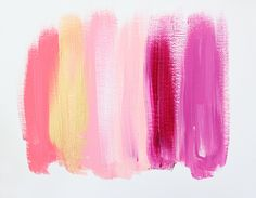 Colors 5 - an original painting by Jen Ramos at Cocoa & Hearts
