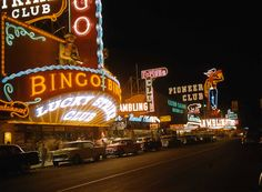 The Lucky Strike Club in downtown Las Vegas (ca.1955-56)