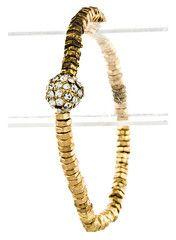 Golden Bolt Bracelet