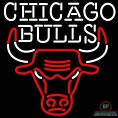 Chicago Bulls Neon Sign NBA Teams Neon Light