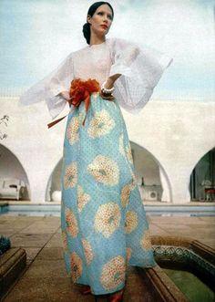 1973 vintage Christian Dior, 1970s || L'Officiel magazine