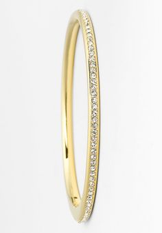 Oh, this is beautiful | Nadri crystal hinged bangle.