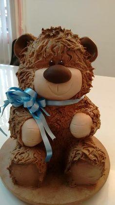 amazing adorable Teddy Bear Cake