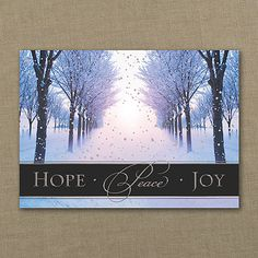57 best nature christmas cards images on pinterest christmas cards trail of hope and peace holiday card m4hsunfo