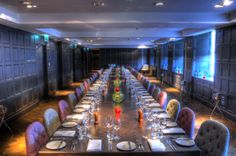 Whether you are planning a birthday celebration or other special family occasion, a retirement dinner or a corporate hospitality private dining event, The Bonham's private rooms offer a unique backdrop that, combined with efficient service and central location, makes this a perfect choice.