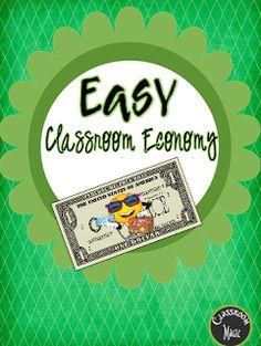 Classroom management using an easy classroom economy system! Classroom Procedures, Classroom Jobs, Middle School Classroom, Classroom Behavior, Primary Classroom, School Fun, Classroom Organization, Classroom Management, Class Management