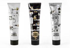 For you @Andrea Graves tubenhonig - honey in fabulous tube #packaging PD