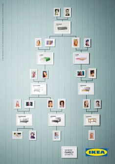 Ikea's Family Tree Ads Show the Beds on Which Each New Generation Was Conceived | Adweek