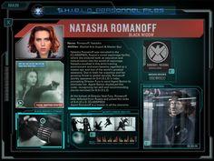 SHIELD Personnel Files - Natasha Romanoff