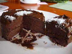 Čokoládový narozeninový dort :: RAW KATKA