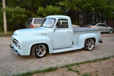 1953 Ford F100 - ALSO I would TOTALLY have this thing raised back to it's original height.