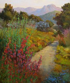 Waterhouse Gallery -Ellie Freudenstein, Impressionist,Santa Barbara landscapes…