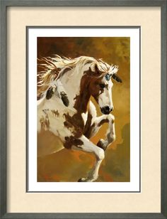 Horse Posters, Prints, Paintings & Wall Art for Sale Pretty Horses, Horse Love, Beautiful Horses, Animals Beautiful, Arte Equina, Native American Horses, Indian Horses, Horse Posters, Horse Artwork
