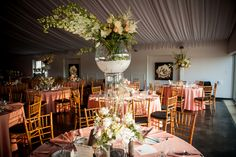 A natural setting created for Kelly and Matt at the Lake House Inn: Photography by Jim Harris Studios.