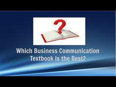 Which Business Communication Textbook Is the Best?