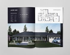 Coachwood Homes Brochure Luxury Graphic Design, Graphic Design Brochure, Corporate Brochure Design, Brochure Design Inspiration, Brochure Layout, Layout Design, Design De Configuration, Behance Portfolio, Brochure Examples