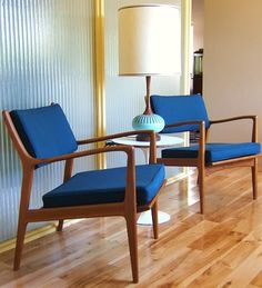 Portland:  Awesome 1960's Teak Chairs - J O Carlsson (JOC) -Swedish $1595/Pair $1595 - http://furnishlyst.com/listings/673890