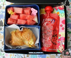 Mamabelly's Lunches With Love: Breakfast-To-Go in our Laptop Lunches Bento Box
