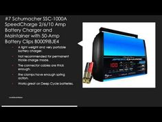 Top 10 Best Battery Charger Reviews - Battery Charger for Car - YouTube