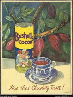 Ephemera relating to Australian shop counter display advertisements. Vintage Labels, Vintage Signs, Vintage Ads, Vintage Posters, Australian Icons, Australian Vintage, Advertising Pictures, Retro Advertising, Cocoa Chocolate