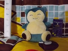 Pokémon: Snorlax Brand: Pokémon Center Series: Pokédoll Overall Condition: Very Good Paper Tag: None Hang String: N/A Material: Minky Country: JPN Year: 2009 Feel free to inquire more information via