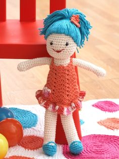 Free Pattern - Crochet Doll (could be a cute Christmas gift for Grace!)