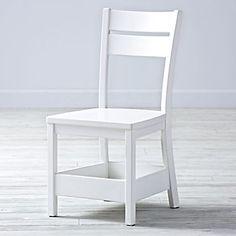 Porter White Kids Chair