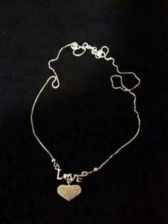 Silver necklace!