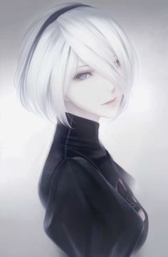 Post with 2540 votes and 97953 views. Tagged with art, anime, aesthetic; Shared by gahidus. Lovely Art by Komatsuna Nya Taro Yoko, Nier Automata A2, Video Games Girls, Digital Art Girl, Anime Fantasy, Anime Art Girl, Anime Guys, Anime Style, Kawaii Anime