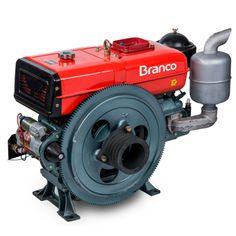 Motor à Diesel Refrigerado à Agua 17.4 HP | Branco MT BDA 18.0T
