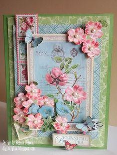 Botanical Tea Card - Gina Simmons