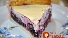 Tvarohový koláč skoro bez kalórií: Nesmierne chutný, ľahký a vďaka čučoriedkam aj svieži – vôbec nie je presladený!