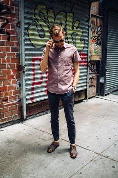 Nos inspiramos en un blogger de moda para renovar los estilismos de trabajo
