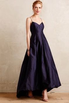 Tracy Reese Marina Gown #anthrofave - Hmm, Rock Chalk Ball? Have I found my dress?