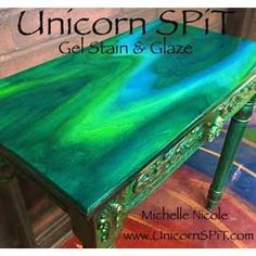 Unicorn Spit Wood Gel Stain & Glaze or Use on Wood Glass Metal Fabric. This item is for Unicorn Spit-Wood Stain And G… – garage