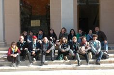 Recibimos la visita de alumnos de la Facultad de Bellas Artes de 3ᵉ grado de Altea, de la Universidad Miguel Hernández.