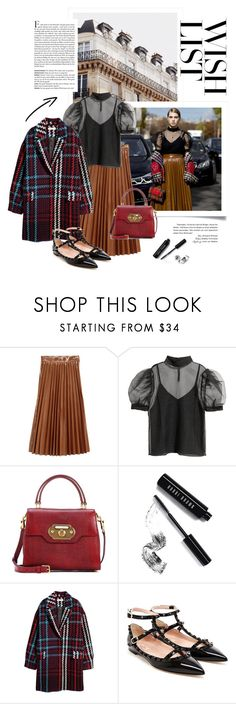 """""""#PolyPresents: Wish List"""" by fjonsen ❤ liked on Polyvore featuring H&M, Dolce&Gabbana, Bobbi Brown Cosmetics, Valentino, contestentry and polyPresents"""