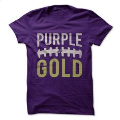 Purple and Gold - Football - #thank you gift #thoughtful gift