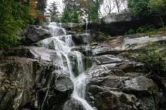 Ramsey Cascades is a must-see because it's the tallest waterfall in the Smoky Mountains and definitely one of the most spectacular! Smoky Mountains Hiking, Appalachian Mountains, Mountain Hiking, Blue Ridge Mountains, Great Smoky Mountains, Gatlinburg Cabin Rentals, Ramsey Cascades, Rainbow Falls