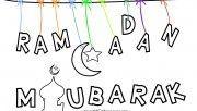 Print out ramadan mubarak…