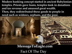 Ancient History Facts: Modern Banking Concept Started In Ancient Babylonian Temples