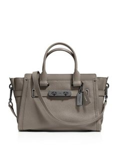 COACH Swagger 27 in Pebble Leather   Bloomingdale's