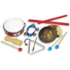 Real Musical Instruments for Children - For Small Hands...I think Nora would love this!
