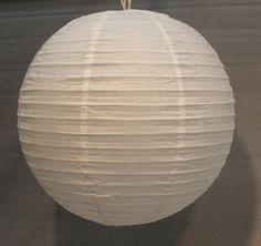 Chinese lampion wit - 24 cm.   Lampionnen   CANDLEBAGPLAZA   sfeerartikelen webwinkel - Candlebags, Waterlantaarns, Wensballon, Candlecover en meer