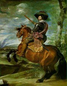 Velazquez. Conde-Duque de Olivares. Museo del Prado. Madrid