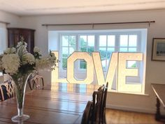 "Light Up Letters 💡 Venue Decor on Instagram: ""One thing we absolutely love about our letters is the size of them!!! They nestle perfectly into small spaces allowing up to get creative…"" Light Up Letters, Love And Light, Small Spaces, This Is Us, Mirror, Creative, Furniture, Instagram, Home Decor"